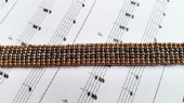 Learn a Stitch - Ladder Stitch Bracelet Kit with MIYUKI seed beads BEGINNER